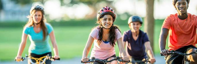 safer roads for bikers and walkers