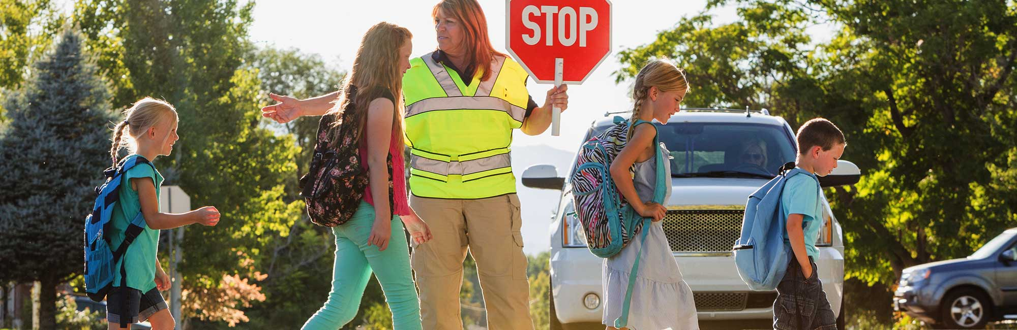 improved road safety for students of all ages